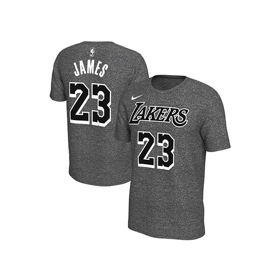 lebron james lakers t shirt nike
