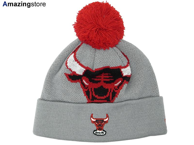 NEW ERA CHICAGO BULLS new era Chicago Bulls knit hat Beanie  Hat head gear  new ... b68382765f84