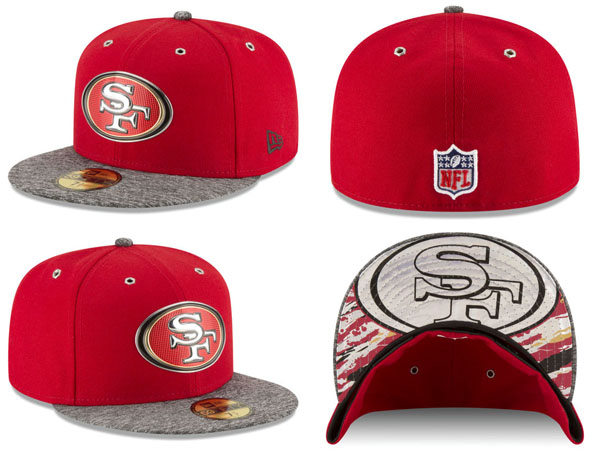 big sale 8621a 5687f ... NEW ERA SAN FRANCISCO 49ERS new gills San Francisco forty-niners draft  59FIFTY フィッテッド