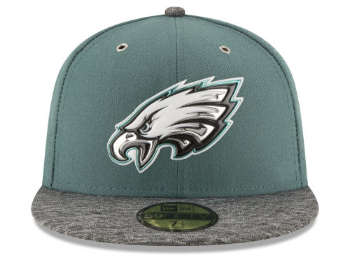 NEW ERA PHILADELPHIA EAGLES new era Philadelphia Eagles draft 59FIFTY  fitted cap FITTED CAP AUTHENTIC  Hat head gear mens 16   4   2DRF16 4 3  1a9f08bb4b1