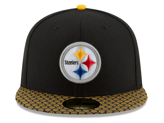 steelers fitted hats