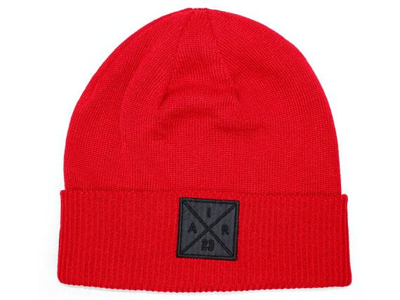 98101ecda6a8 ... purchase jordan brand jordan brand air jordan knit hat beanie red red  hat cap cap nike
