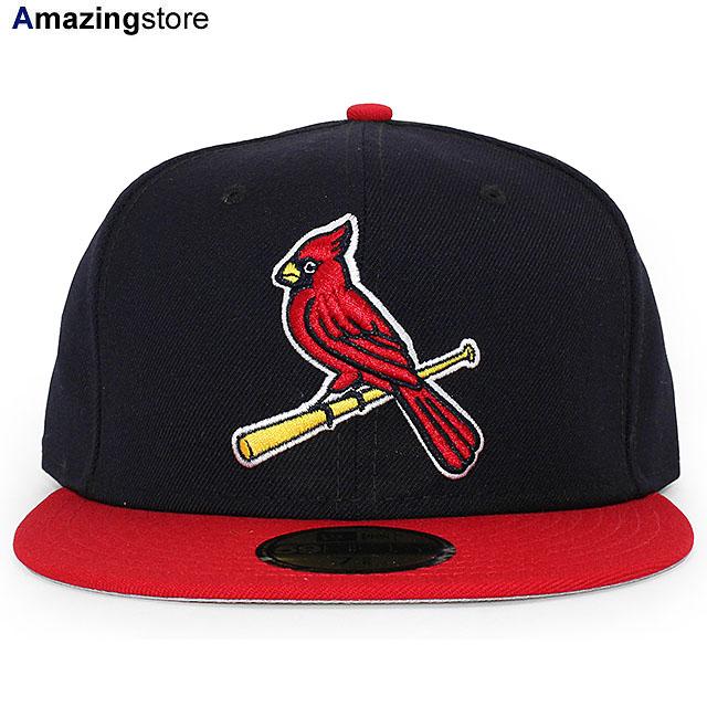 ニューエラ 59FIFTY セントルイス カージナルス 【MLB OLD AUTHENTIC COLOR GAME 1999-2006 ALT FITTED CAP/NAVY-RED】 NEW ERA ST.LOUIS CARDINALS [19_10_3 19_10_4OLD]