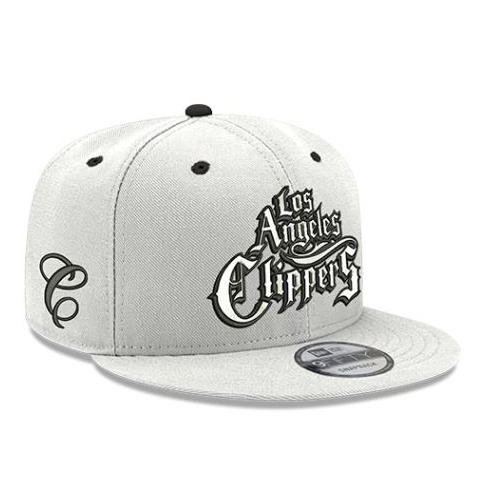 Mister Cartoonデザイン CITY EDITIONモデル 【海外取寄】ニューエラ 9FIFTY ロサンゼルス クリッパーズ【MISTER CARTOON LA CLIPPERS ADJUSTABLE SNAPBACK CAP/WHT】NEW ERA LOS ANGELES CLIPPERS 19_11_5NBA19_12_1 CITY EDITION