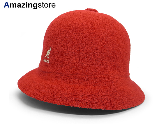 KANGOL 【BERMUDA CASUAL/RED】カンゴール バミューダ [帽子 ヘッドギア 大きい サイズ メンズ レディース LONDON UK 15_4_2KGL15_4_3]
