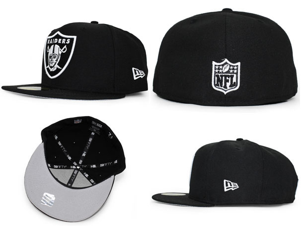 NEW ERA OAKLAND RAIDERS new era Oakland Raiders 59 FIFTY fitted caps FITTED CAP [high hat cap size mens ladies 2015 FW 15 _ 10 _ 5NFL15_11_1]