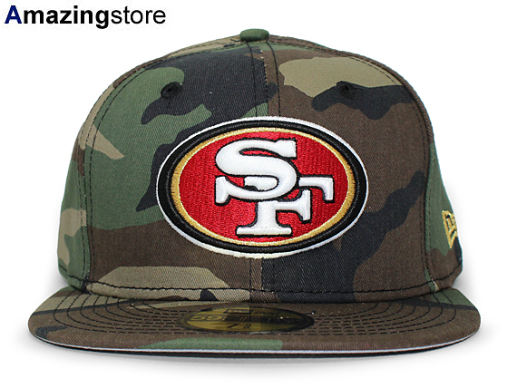 76738ade NEW ERA SAN FRANCISCO 49ERS new era San Francisco forty niners 59FIFTY  FITTED CAP fitted caps Camo camouflage [big hat head gear new era cap new  era ...
