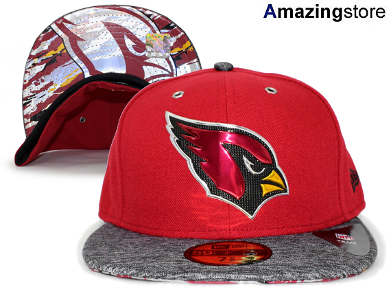 NEW ERA ARIZONA CARDINALS new era Arizona Cardinals draft 59FIFTY fitted  cap FITTED CAP AUTHENTIC  Hat head gear mens 16   9   3DRF  646c570b815
