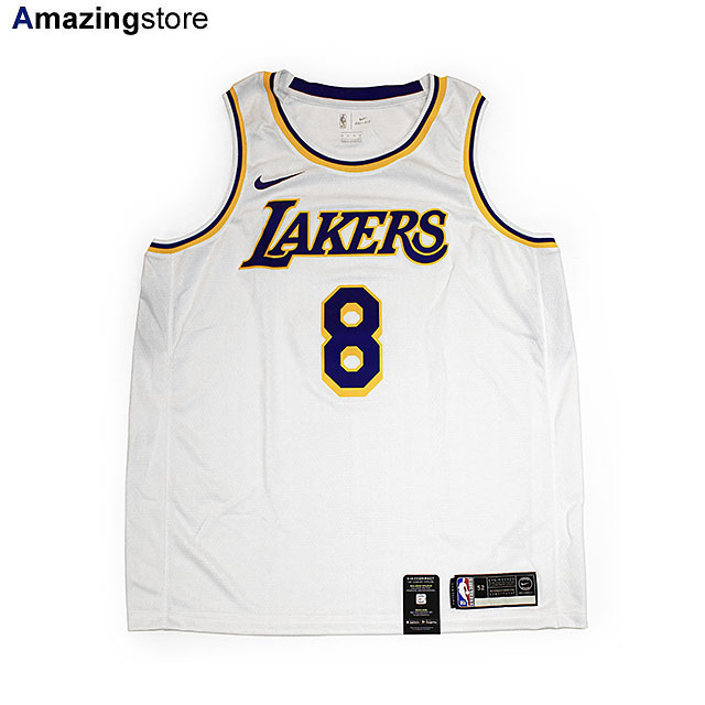 コービー ブライアントモデル NIKE ロサンゼルス レイカーズ 【NBA ASSOCIATION EDITION SWINGMAN JERSEY/WHITE】 ナイキ KOBE BRYANT LOS ANGELES LAKERS [UNIFORM 20_3_1KOBE+BRYANT]