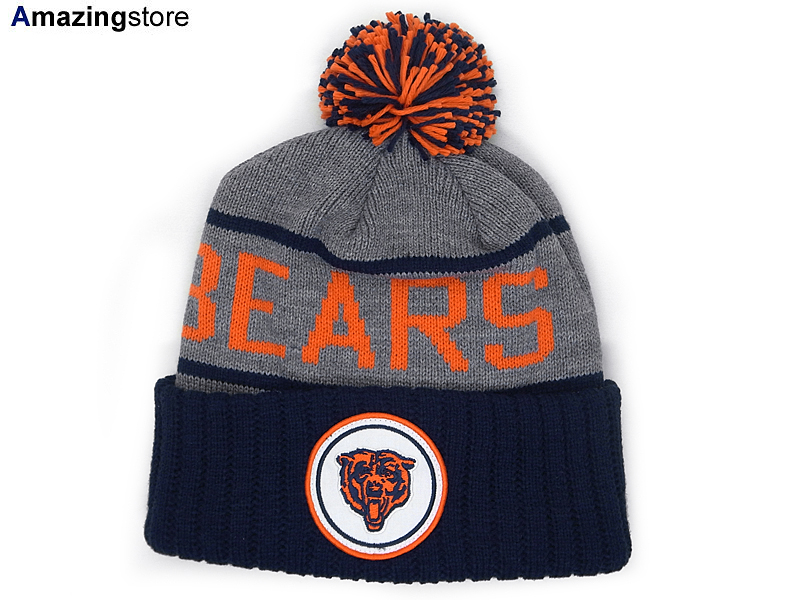 online store ec832 e939a MITCHELL NESS CHICAGO BEARS Mitchell & Ness Chicago Bears knit hat Beanie  [Hat head gear new era cap new era caps new era Cap newera Cap large size  ...
