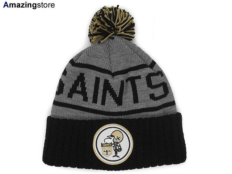 b52546531 MITCHELL NESS NEW ORLEANS SAINTS Mitchell & Ness New Orleans Saints knit  hat Beanie [Hat head gear new era cap new era caps new era Cap newera Cap  ...