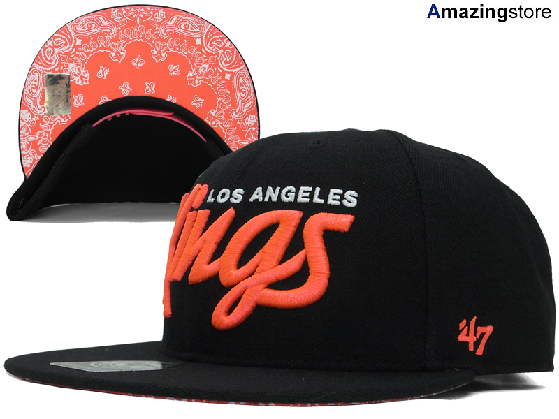 43904b8b 47 BRAND LOS ANGELS KINGS forty seven brand Los Angeles Kings Snapback Hat  head gear new era cap new era caps new era Cap newera Cap large which are  ...