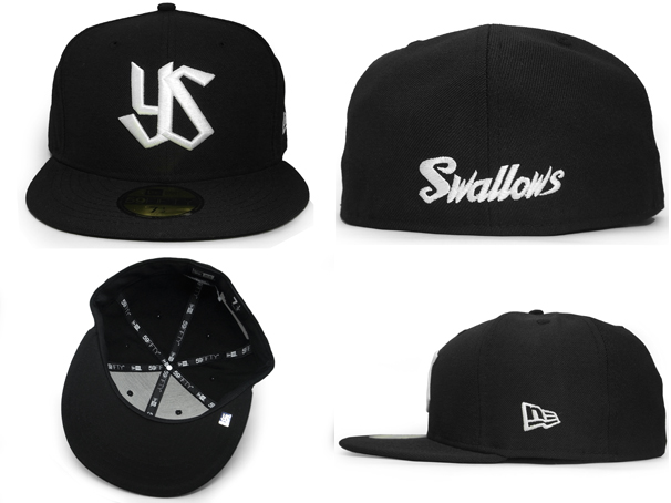 TOKYO YAKULT SWALLOWS, NEW ERA new era Tokyo Yakult Swallows 59FIFTY FITTED CAP N 0002320 [the hat head gear new era cap new era caps mens]