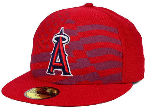 NEW ERA LOS ANGELES ANGELS OF ANAHEIM 【2015 JULY 4TH STARS N STRIPES/RED】17_12_3aag