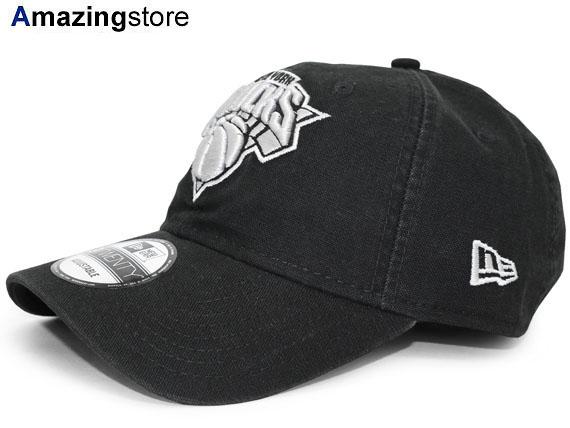 d413819c5ae NEW ERA NEW YORK KNICKS new gills New York Knicks strap back row profile  cap LOW PROFILE DAD HAT NBA BLACK black black  hat cap cap BALL CAP 17 3 3  17 3 4
