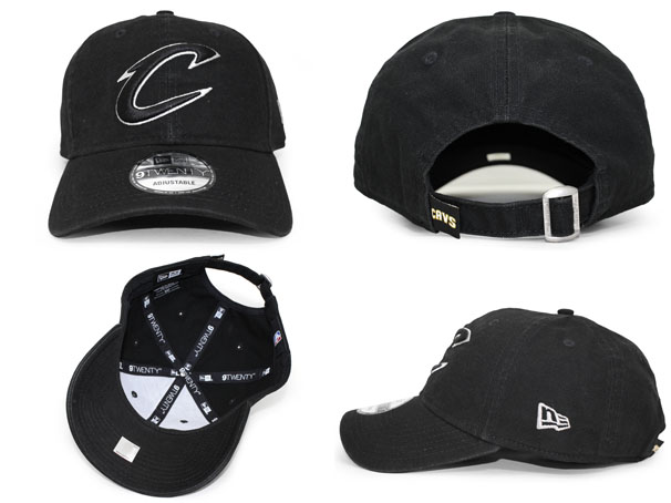 NEW ERA CLEVELAND CAVALIERS new gills Cleveland Cavaliers strap back row  profile cap LOW PROFILE DAD HAT NBA BLACK black black  hat cap cap BALL CAP  17 3 3 ... a13abf0b48f