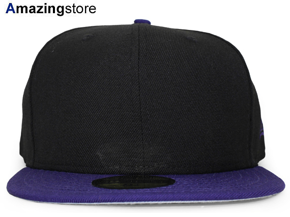 reputable site bd738 67e83 NEW ERA new era flag blank 59FIFTY fitted FITTED CAP black purple BLACK  PURPLE  big