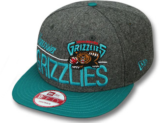 the best attitude 9f28b 65dae NEW ERA MEMPHIS GRIZZLIES new era Memphis Grizzlies 9 FIFTY Snapback  Hat  headgear caps CAP ...