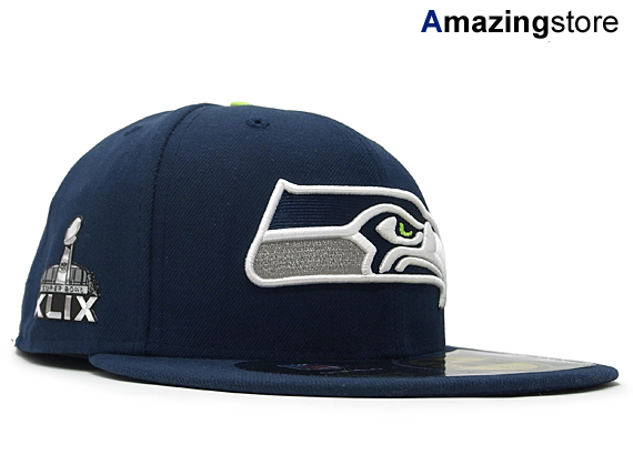 huge selection of 07a28 f1828 NEW ERA SEATTLE SEAHAWKS new gills Seattle Seahawks 59FIFTY FITTED  フィッテッドスーパーボウル  hat