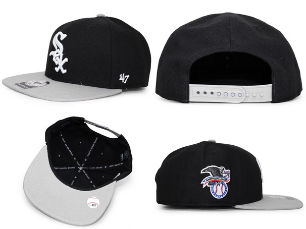 d041761922712 47BRAND CHICAGO WHITE SOX forty seven brand Chicago White Sox snapback   size men gap Dis 18 12RE which hat headgear cap CAP has a big