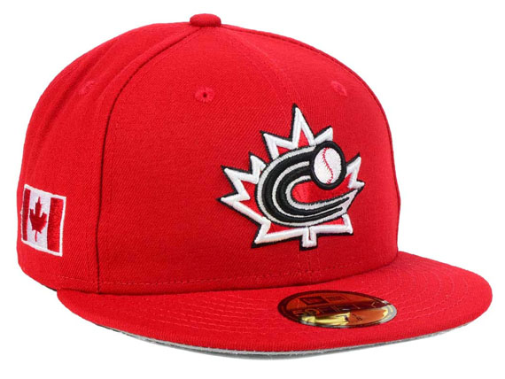 bff314ec22d ... where can i buy new era world baseball classic new gills canada on  field 59fifty fitted