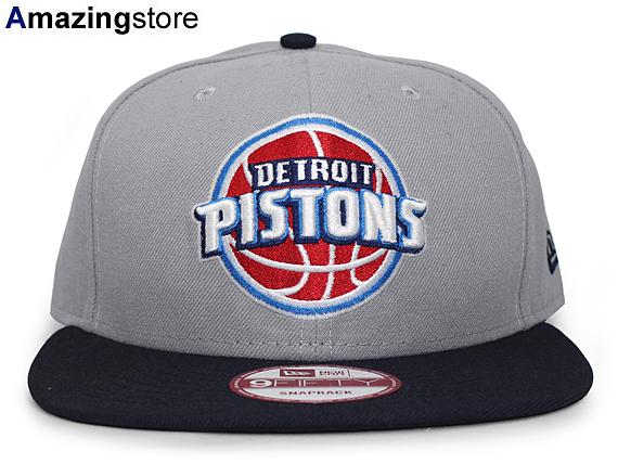 2e8a147f45a26 NEW ERA DETROIT PISTONS new gills Detroit Pistons 9FIFTY snapback NBA gray  navy dark blue  hat new era cap new gills cap new era cap 17 2 5SNA 17 3 2