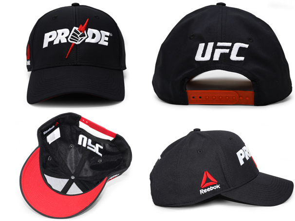 9c5dd9ed REEBOK UFC PRIDE リーボック 【STRUCTURED ADJUSTABLE SNAPBACK/BLK】 [19_5RE 19_6RE]