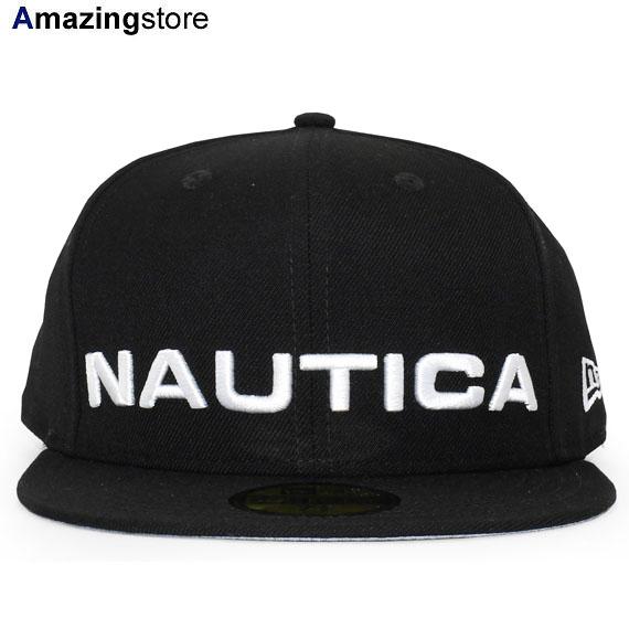 【あす楽対応】NEW ERA 59FIFTY ノーティカ 【SCUBA FITTED CAP/BLK】 ニューエラ NAUTICA [19_4_3NAU 19_4_4]