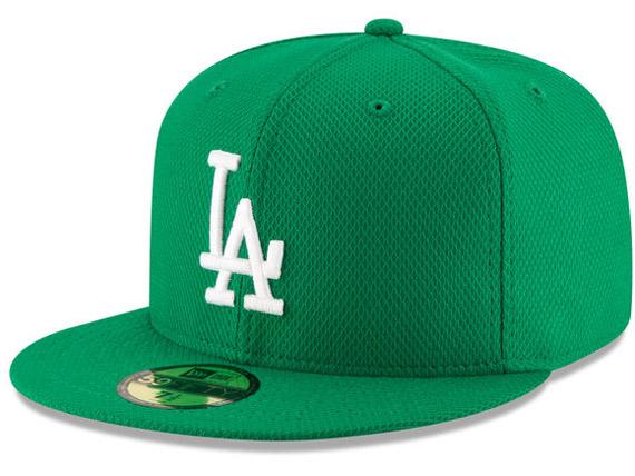 NEW ERA LOS ANGELES DODGERS 【MLB 2016 ST PATRICKS DAY DIAMOND ERA/GRN】 ニューエラ ロサンゼルス ドジャース 59FIFTY フィッテッド キャップ FITTED CAP セント・パトリックス・デー [帽子 new era cap ニューエラキャップ 16_3_2 17_3_16]