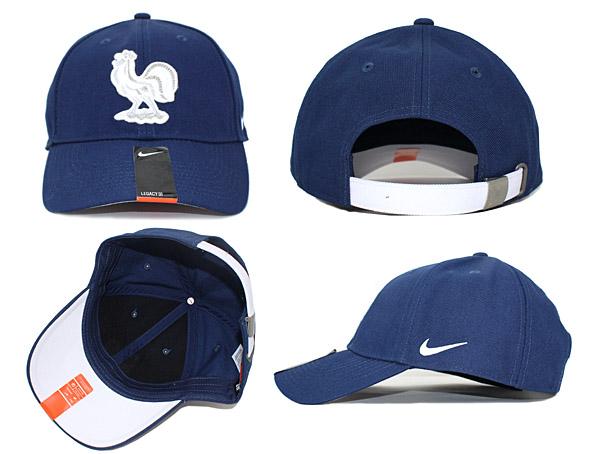 on sale 0f794 97a55 NIKE FRANCE NATIONAL TEAM Nike football France national team back strap low  profile Cap LOW PROFILE [Hat headgear size mens ladies 16 _ 5 _ 16 4NIKE _  ...