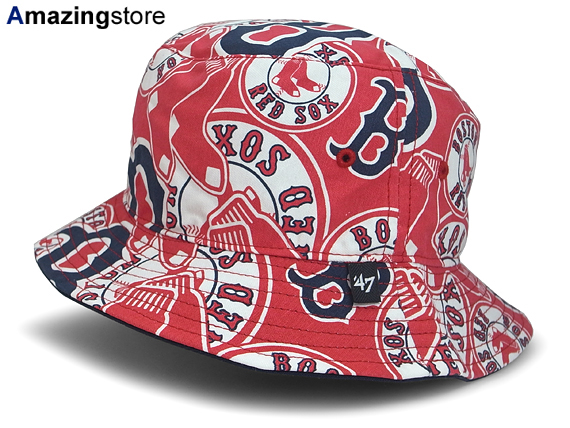 7ead2dd6a3f 47 BRAND BOSTON RED SOX forty seven brand Boston Red Sox bucket Hat  Hat  headgear ...