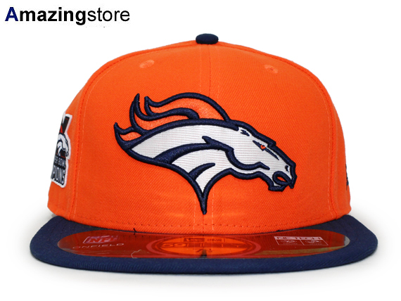 a038d7f4f NEW ERA DENVER BRONCOS new era Denver Broncos 59 FIFTY FITTED CAP fitted  caps Super Bowl  Hat head gear new era cap new era Cap large size GOLD-50 16    9   ...