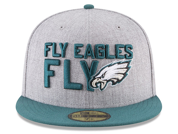 NEW ERA フィラデルフィア イーグルス 【2018 NFL DRAFT ONSTAGE/HEATHER GREY-GRN】ニューエラ PHILADELPHIA EAGLES [18_4_4DRAFT18_5_1]