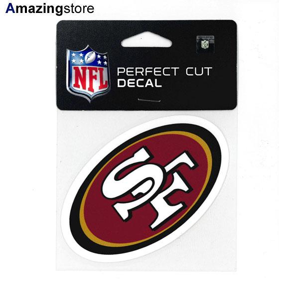 【あす楽対応】ウィンクラフト サンフランシスコ フォーティーナイナーズ 【SAN FRANCISCO 49ERS NFL PERFECT CUT DECAL】 WINCRAFT [for3000 19_1_4ACC 19_1_5]