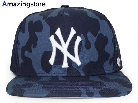 2a69e173e7a015 47BRAND NEW YORK YANKEES forty seven brand New York Yankees mesh cap  SNAPBACK snapback camouflage ...