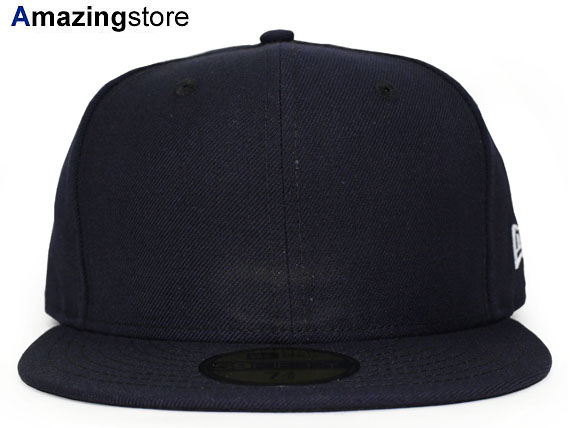 NEW ERA new era flag blank 59FIFTY fitted FITTED CAP Navy plain PLAIN dark blue [Hat new era cap new era caps new era Cap newery Cap large size mens ladies BIG_SIZE 16 _ 8 _ 3 16 _ 8 _ 4 16_8RE]
