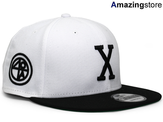 ニューエラ 40エーカーズ 【MALCOM X 25th ANNIVERSARY SNAPBACK/WHT-BLK】 NEW ERA 40 ACRES [18_6_2]