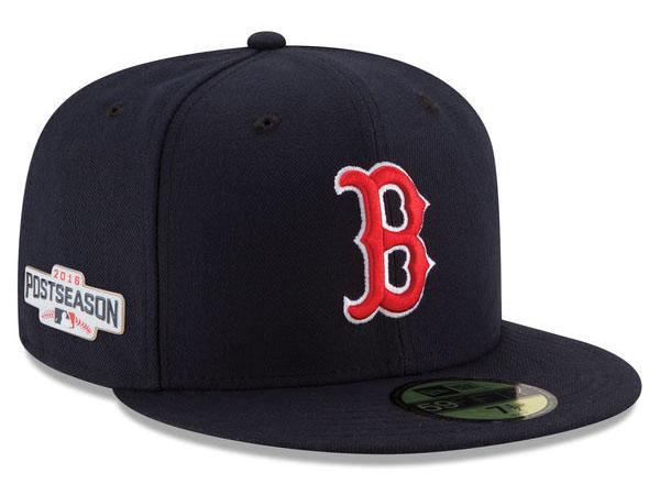 NEW ERA BOSTON RED SOX 【MLB 2016 POSTSEASON GAME ON FIELD/NAVY】 ニューエラ ボストン レッドソックス オンフィールド 59FIFTY CAP フィッテッド キャップ ポストシーズン [帽子 new era cap ニューエラキャップ new eraキャップ 16_10_2]