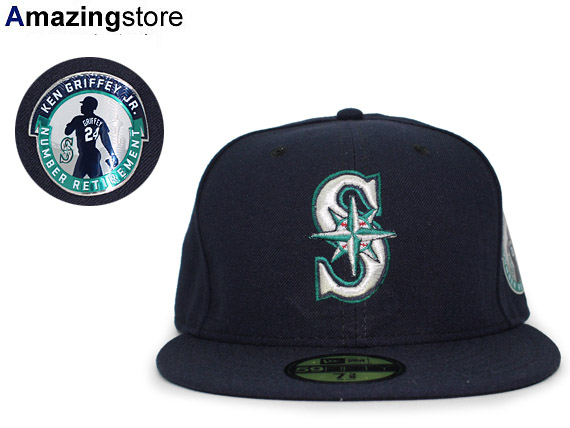 promo code fbc95 6b1b5 auc-amazingstore  NEW ERA SEATTLE MARINERS new gills Seattle Mariners Ken  Griffey Jr. 59FIFTY FITTED  hat headgear cap cap 16 10 3KEN    Rakuten  Global ...