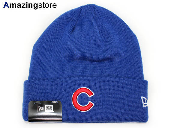 NEW ERA CHICAGO CUBS new era Chicago Cubs knit hat Beanie  Hat new era cap  new era Cap Cap large size mens ladies 16   10   5NE  a1b114e0d6c