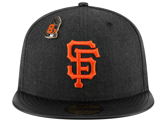 【全7種類以上】NEW ERA SAN FRANCISCO GIANTS 【MLB HEATHER-PIN/BLK】 ニューエラ サンフランシスコ ジャイアンツ 59FIFTY CAP フィッテッド キャップ ピンバッジ付き PINS [帽子 new era cap new era メンズ レディース 男性用 女性用 16_10_5PIN 16_11_1]