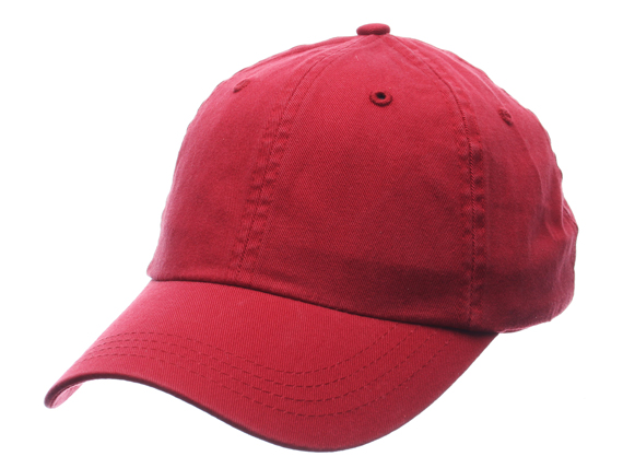 ZEPHYR Zephyr plain strap back low profile Cap LOW PROFILE DAD HAT Red  cap  Cap Cap BLANK PLAIN 16   11   1  763b758230e