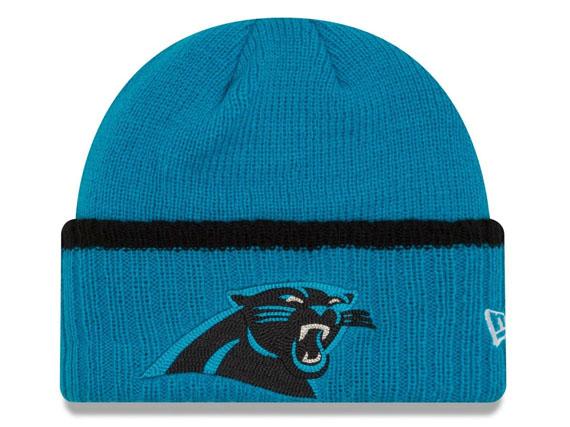 8918ae694 NEW ERA CAROLINA PANTHERS new era Carolina Panthers knit hat Beanie  Hat  head gear new era Cap 16   11   4 NE 2016-17KNIT BEANIE