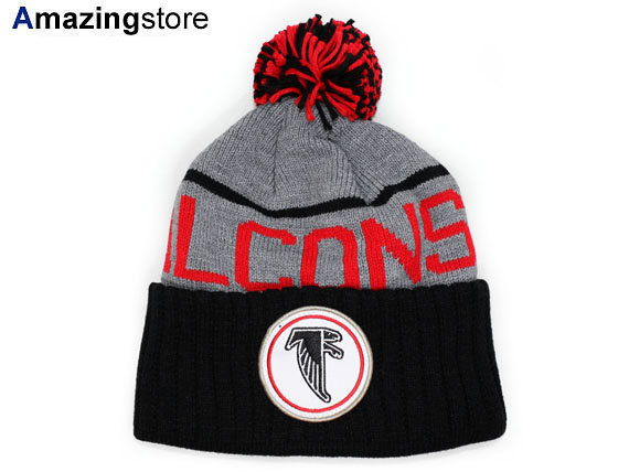 f7bdcbe1ed7a02 MITCHELL NESS ATLANTA FALCONS Mitchell & Ness Atlanta Falcons knit hat  Beanie [Hat head gear new era cap new era caps new era Cap newera Cap large  size mens ...
