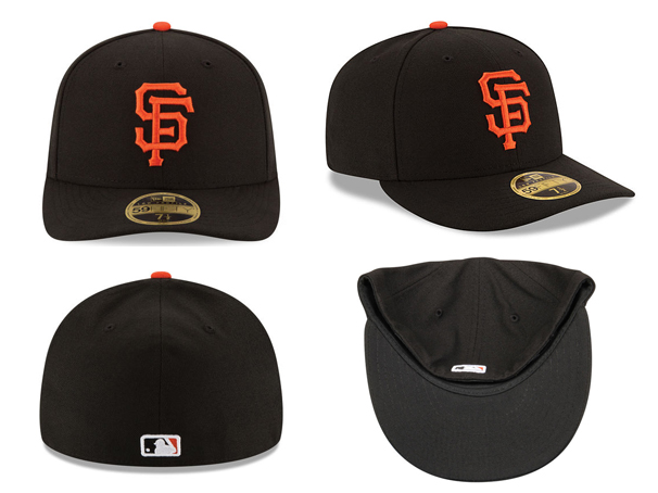199a72e9 NEW ERA SAN FRANCISCO GIANTS new gills San Francisco Giants on field  59FIFTY FITTED CAP フィッテッドキャップ LOW PROFILE CAP MLB [AUTHENTIC ...