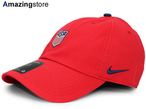 8de2d5ae820 Representative from NIKE USA NATIONAL TEAM Nike United States strap back  row profile cap LOW PROFILE SOCCER soccer DAD HAT TWILL CAP red red  hat cap  17 8 2 ...