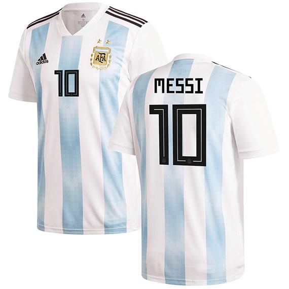 0dbec07cc auc-amazingstore  Representative from ADIDAS Argentina Lionel Messi model  replica uniform jersey YOUTH Adidas LIONEL MESSI 18 6 5ADS18 7 1