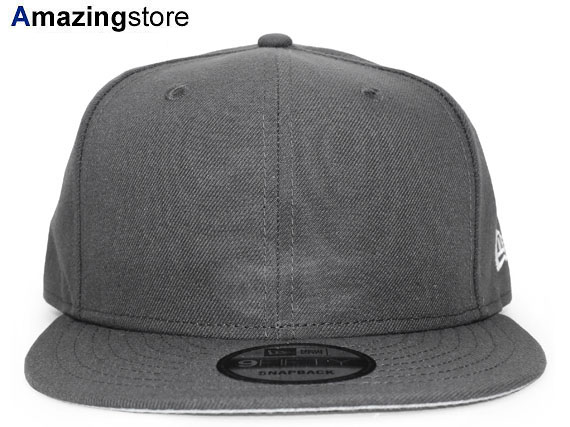 a802723350eb7 NEW ERA new gills flag plain fabric 9FIFTY snapback PLAIN plane charcoal  gray GRAY  hat new era cap new gills cap new era cap newera cap men gap Dis  ...
