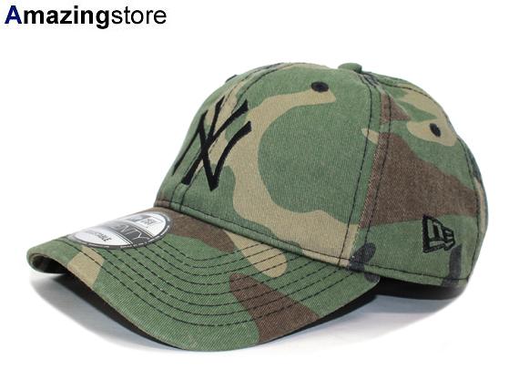 NEW ERA NEW YORK YANKEES ニューエラューヨークヤンキースストラップバックロープロファイルキャップ LOW PROFILE  WHITE Woodland duck camouflage  hat cap cap ... e4b1dc21d9b