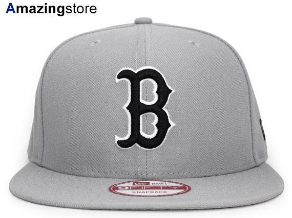 b54920c359a5e2 NEW ERA BOSTON RED SOX new gills Boston Red Sox 9FIFTY snapback MLB gray  GRAY gray ...